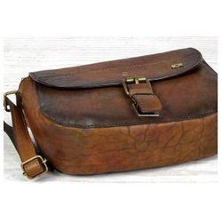 ALIVE 22 torba skóra naturalna firmy Daag na ramię listonoszka damska