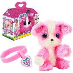 TM Toys Fur Ball My Real Rescue różowy