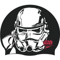 speedo Star Wars Slogan Print Czapka, black/white 2019 Czepki pływackie Przy złożeniu zamówienia do godziny 16 ( od Pon. do Pt., wszystkie metody płatności z wyjątkiem przelewu bankowego), wysyłka odbędzie się tego samego dnia.