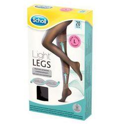 SCHOLL 1szt Light Legs L Rajstopy uciskowe cienkie 20 DEN czarne