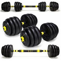 Hantle, Hantle treningowe kompozytowe 2 x 20kg. HC2.-20kg