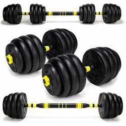 Hantle treningowe kompozytowe 2 x 20kg. HC2.-20kg
