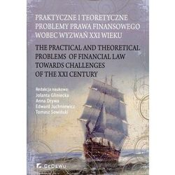 Praktyczne i teoretyczne problemy prawa finansowego wobec wyzwań XXI wieku (opr. miękka)