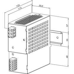 Zasilacz na szynę DIN WAGO 787-692, 30,5 V/DC (SELV), 3 A, 91.5 W