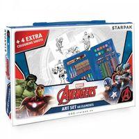 Kreatywne dla dzieci, Zestaw artystyczny 68 elementów Avengers
