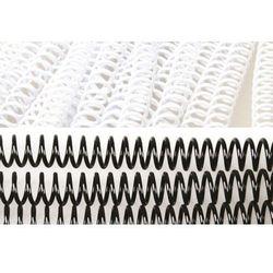 Grzbiety do bindowania spiralne, białe, 10 mm, 100 sztuk, oprawa do 70 kartek - Super Ceny - Rabaty - Autoryzowana dystrybucja - Szybka dostawa - Hurt