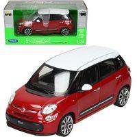 Osobowe dla dzieci, Fiat 500L 2013, czerwony - Welly