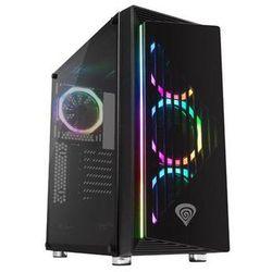 Obudowa Genesis Irid 400 ATX Midi z oknem, USB 3.0 podświetlenie RGB