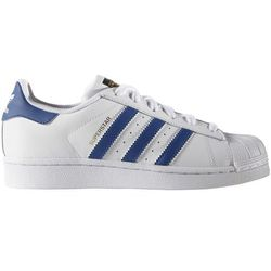 adidas Originals SUPERSTAR FOUNDATION Tenisówki i Trampki white/blue