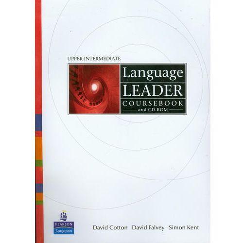 Książki do nauki języka, Language Leader Upper Intermediate course book and CD (opr. miękka)