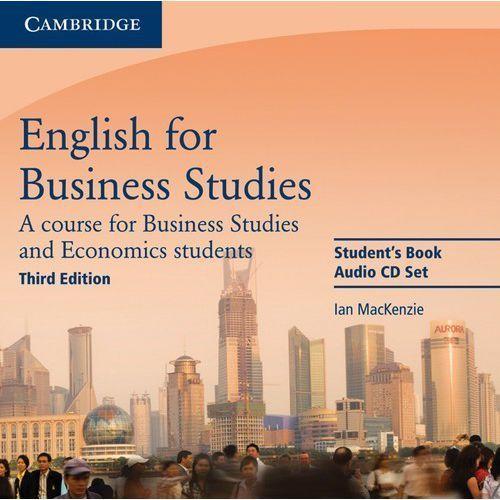 Książki do nauki języka, English for Business Studies (3rd Edition) Audio CDs (2)