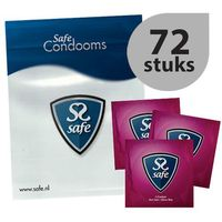 Prezerwatywy, Prezerwatywy ultra cienkie - Safe Feel Safe Condoms Ultra-Thin 72szt