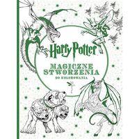 Kolorowanki, Harry Potter. Magiczne stworzenia do kolorowania