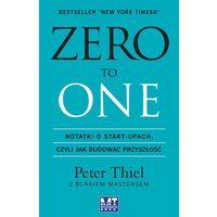 Biblioteka biznesu, Zero to one (opr. miękka)