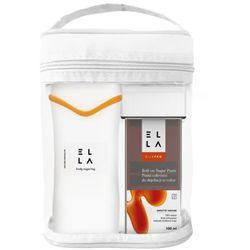 Zestaw do depilacji pastą cukrową ELLA Roll on Professional - Podgrzewacz + 4 aplikatory
