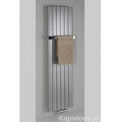 COLONNA grzejnik łazienkowy 602x1800mm stalowy, metaliczny srebrny 1205W IR146