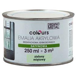Emalia akrylowa Colours zielona miętowa 0,25 l