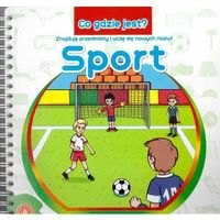 Książki dla dzieci, ALEXANDER Co Gdzie Jest? Sport (opr. twarda)