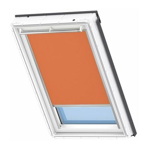 Rolety, Roleta na okno dachowe VELUX elektryczna Premium DML PK08 94x140 zaciemniająca