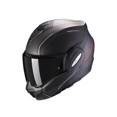 Kaski motocyklowe, SCORPION KASK INTEGRALNY EXO-TECH T MATT BLACK-RED
