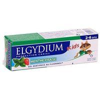 Pasty do zębów, ELGYDIUM Kids Pasta Miętowo-truskawkowa 50ml