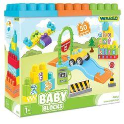WADER 41450 Baby Blocks 50 szt.