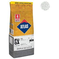 Fuga cementowa BROKATOWA 300 alabaster 2 kg ATLAS