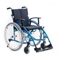 Wózki inwalidzkie, Wózek inwalidzki wykonany ze stopów lekkich - Active Sport w nowym niebieskim odcieniu