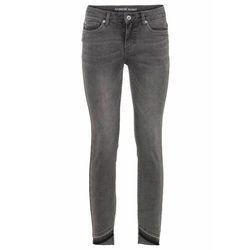 Spodnie z imitacją założenia kopertowego bonprix ciemnoniebieski