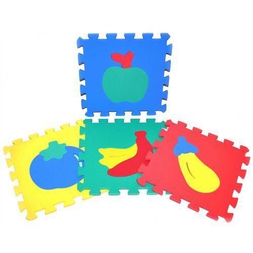 Puzzle, Teddies BABY Puzzle piankowe owoce 30x30cm - BEZPŁATNY ODBIÓR: WROCŁAW!