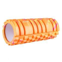 Wałek roller do jogi inSPORTline Lindero - Kolor Pomarańczowy