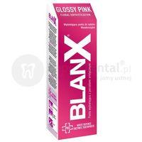 Pasty do zębów, BLANX PRO Glossy Pink 75ml pasta do zębów dogłębnie wybielająca