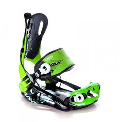Wiązania snowboardowe Raven FT 270 (green) 2019