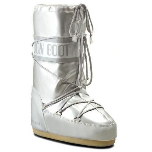 Śniegowce damskie, Śniegowce MOON BOOT - Vinile Met. 14021400002 Bianco D