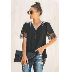 Damski t-shirt ALMARA BLACK