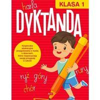 Literatura młodzieżowa, Dyktanda. Klasa 1 - książka (opr. broszurowa)