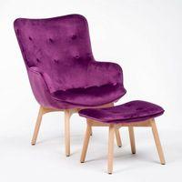Fotele, FOTEL USZAK MWM-001 Z PODNÓŻKIEM KOLOR #31