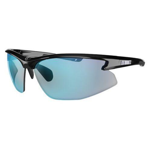 Pozostałe okulary i soczewki, Sportowe okulary przeciwsłoneczne Bliz Motion Multi, Czarny z różowymi szkłami