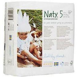 NATY NATURE BABYCARE 5 JUNIOR Pieluszki jednorazowe (11-25 kg), 23 szt.