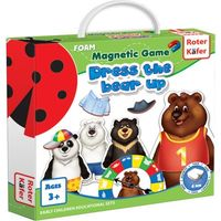 Gry dla dzieci, Ubierz Misia (Dress a Bear Up) - Gra Magnetyczna - Roter Kafer DARMOWA DOSTAWA KIOSK RUCHU