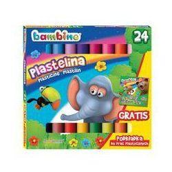 Plastelina Bambino 24 kolory. Darmowy odbiór w niemal 100 księgarniach!