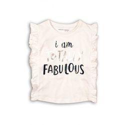 Koszulka dziewczęca z falbaną 3I36BP Oferta ważna tylko do 2023-09-01