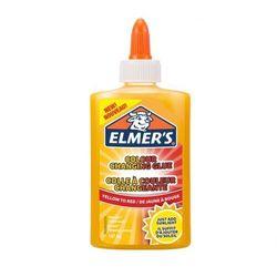 Elmers klej PVA zmieniający kolor z żółtego w czerwony, zmywalny, 147 ml - doskonały do Slime (2109498). Wiek: 3+
