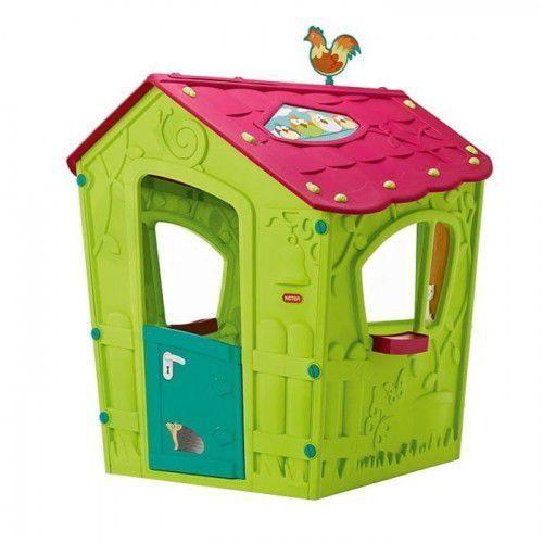 Domki i namioty dla dzieci, Mały domek dla dzieci Keter Magic Playhouse jasnozielony - Transport GRATIS!