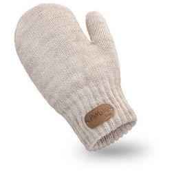 Rękawiczki dziewczęce PaMaMi - Beżowy
