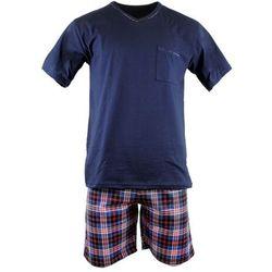 Bawełniana piżama męska Cornette 329/113 Steve granatowa