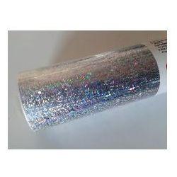 Okleina meblowa dc fix metaliczna brokatowa Prisma srebrna 217-0008