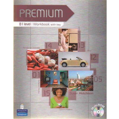 Książki do nauki języka, Premium B1 Workbook (zeszyt ćwiczeń) with Key plus Multi-ROM (opr. miękka)