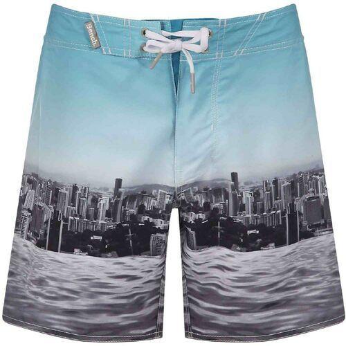 Kąpielówki, strój kąpielowy BENCH - Beachley White (WH001) rozmiar: 30
