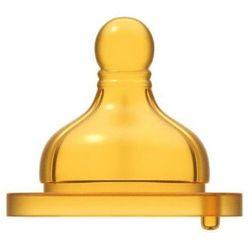CHICCO Smoczek do butelki fizjologiczny kauczukowy do kaszek 2 szt.